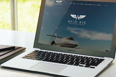 Avid Air Charter Website