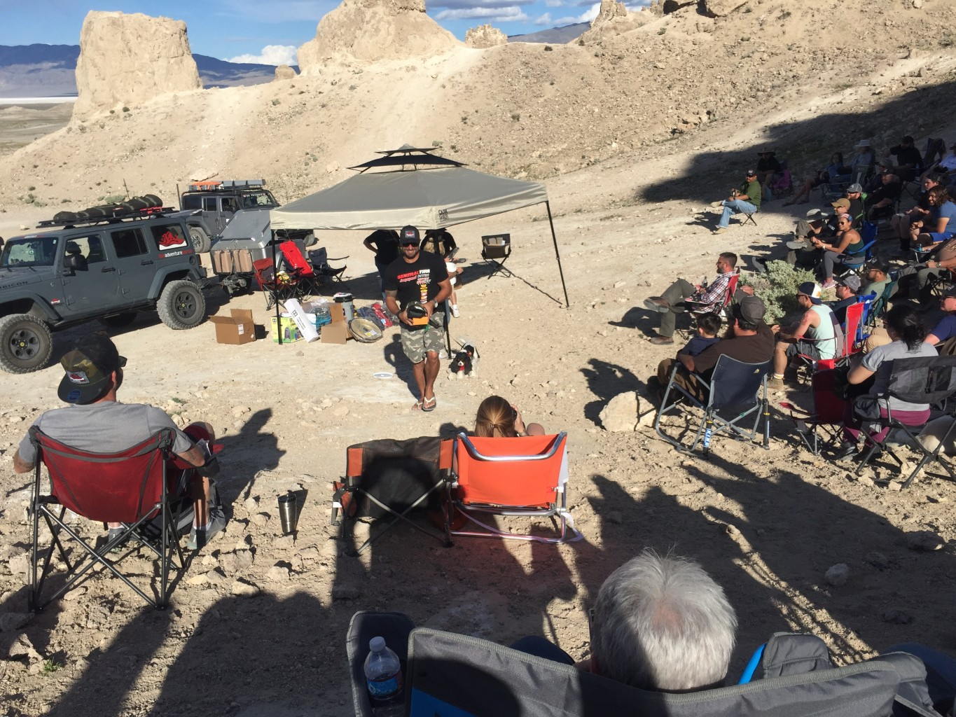 "Trona Pinnacles ""Run for the Sun"" Weekend"